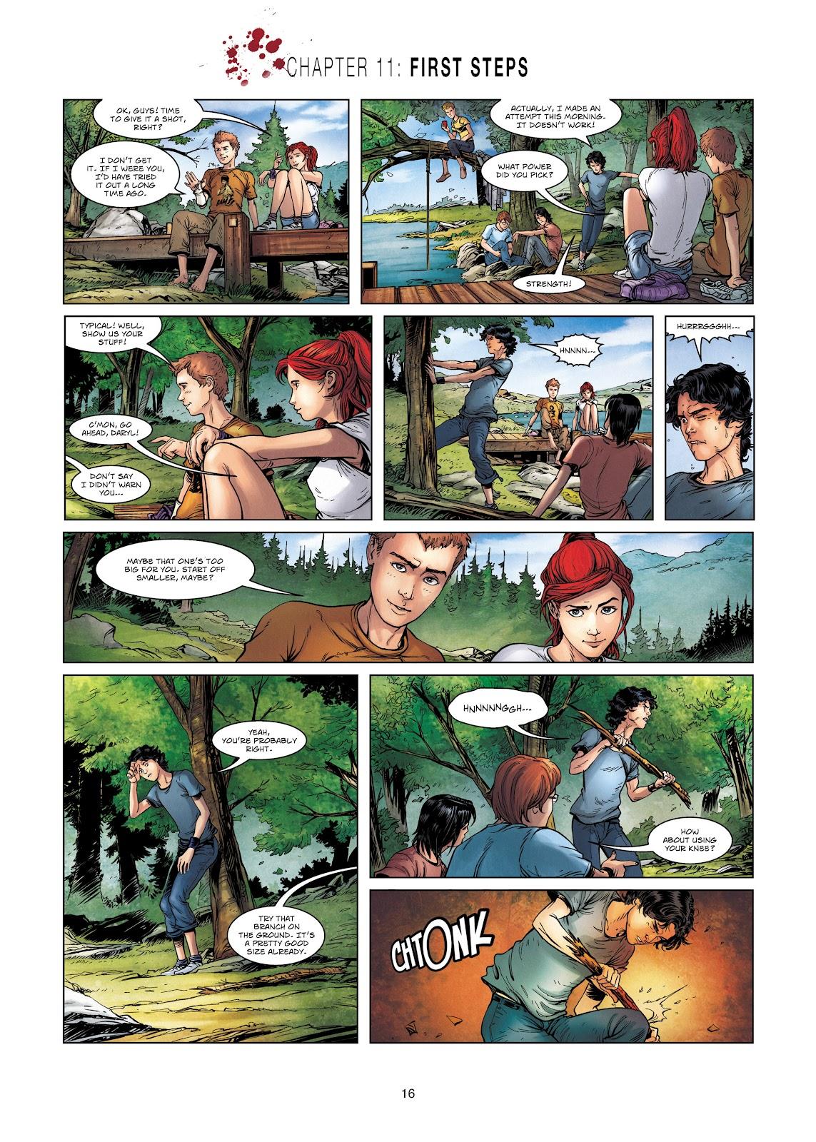 Read online Vigilantes comic -  Issue #2 - 16