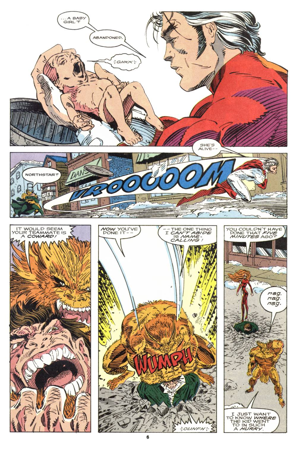 Read online Alpha Flight (1983) comic -  Issue #106 - 6