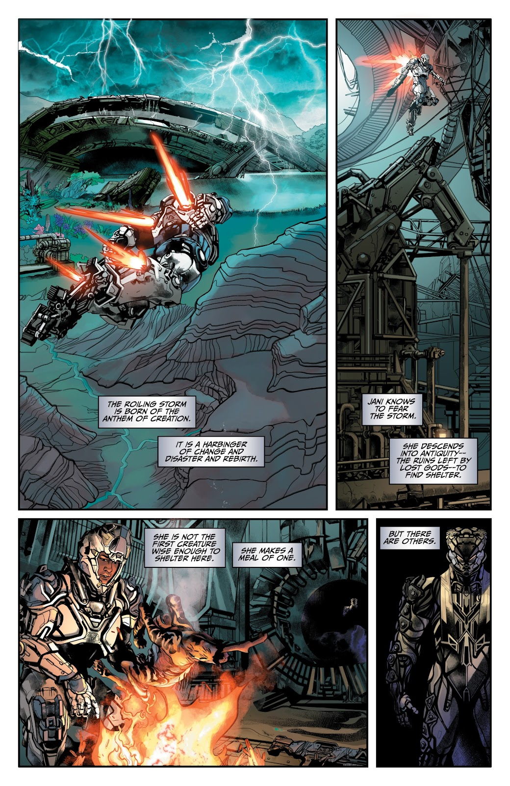 Read online Anthem comic -  Issue #2 - 10