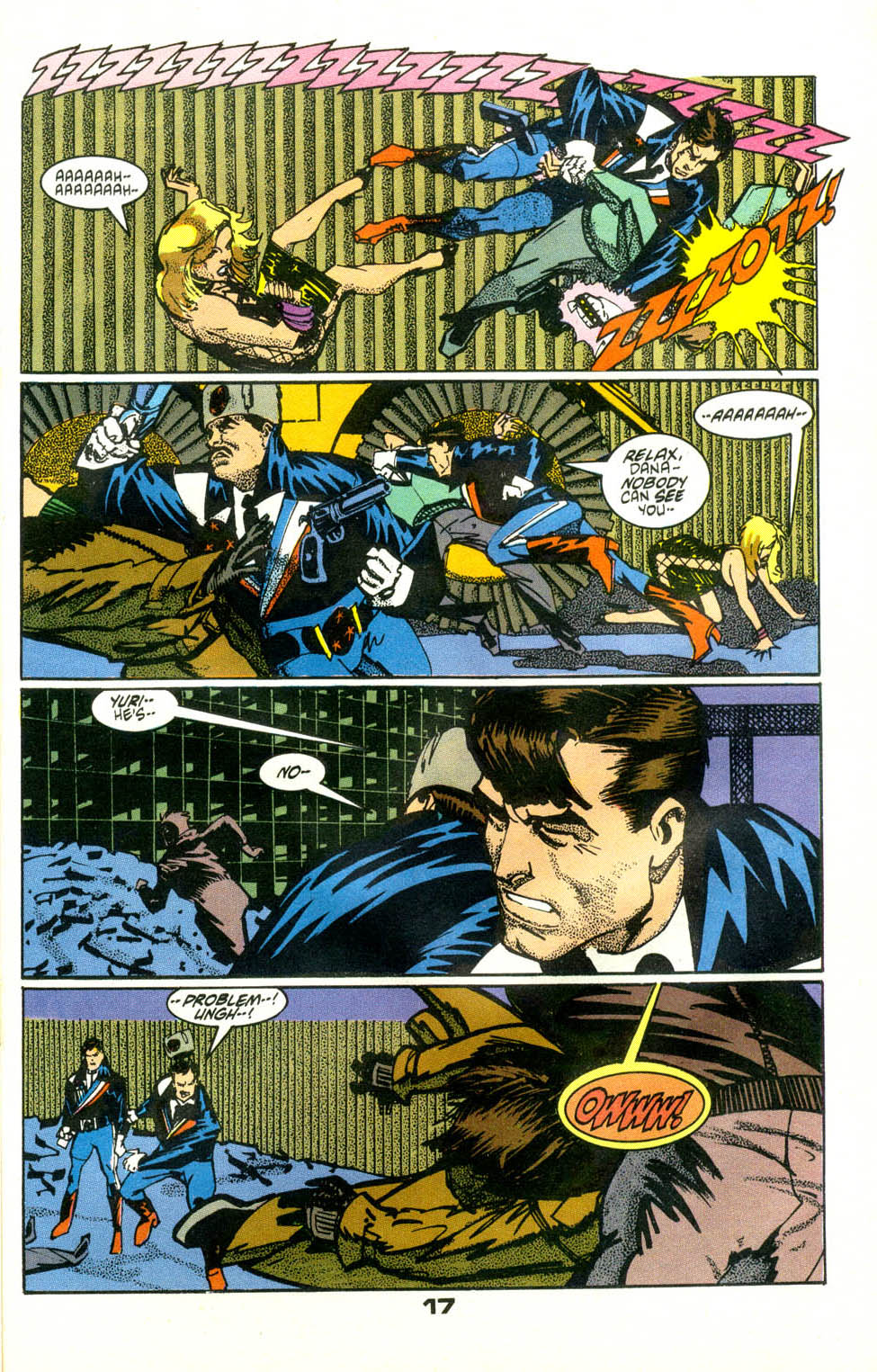 Read online American Flagg! comic -  Issue #24 - 19