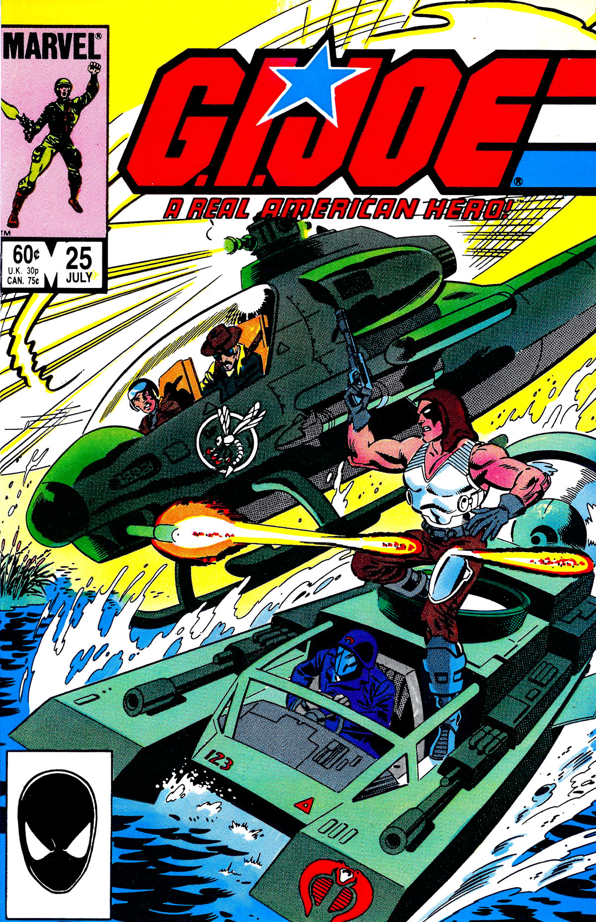 G.I. Joe: A Real American Hero 25 Page 1