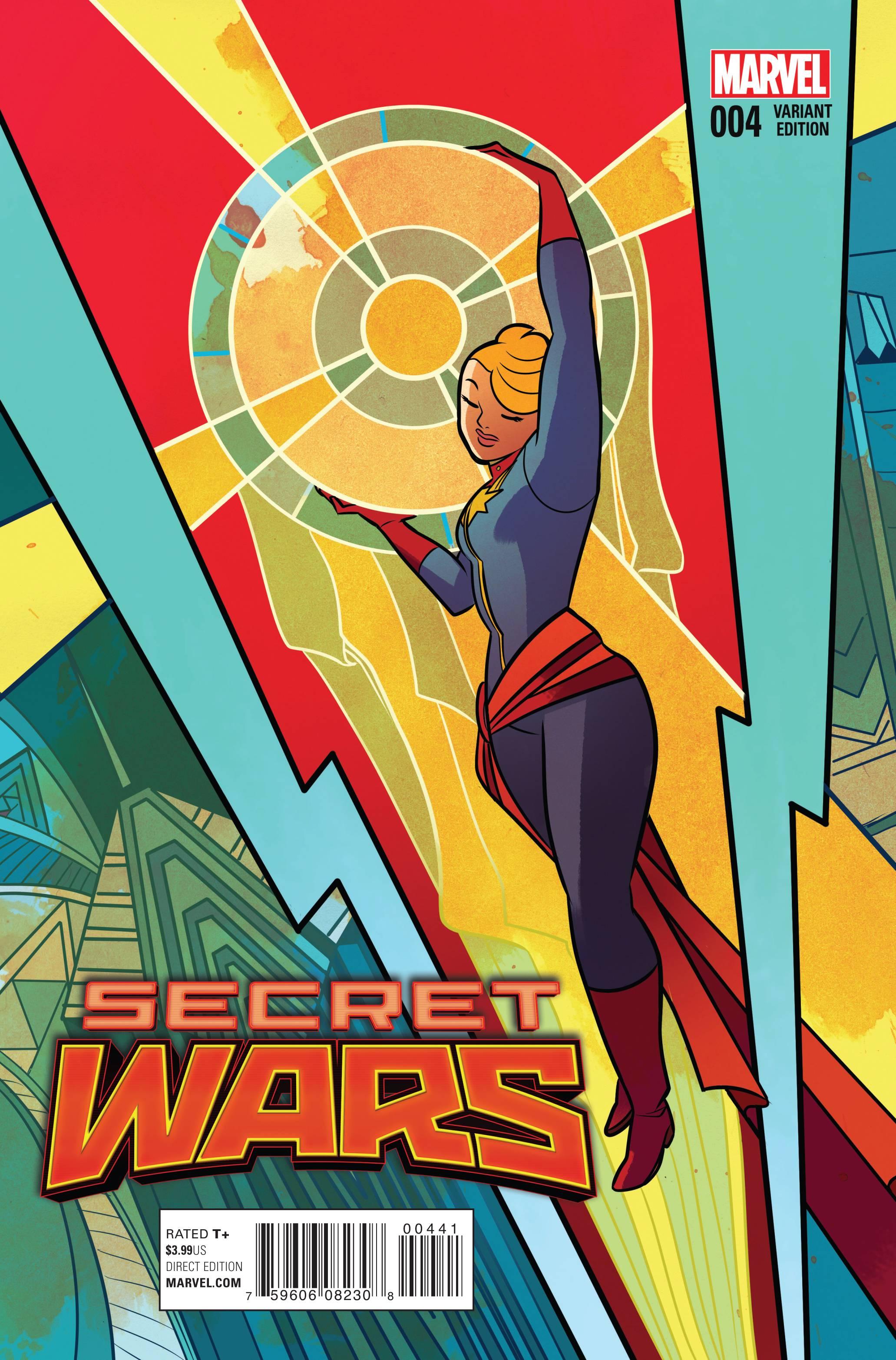 Read online Secret Wars comic -  Issue #4 - 4