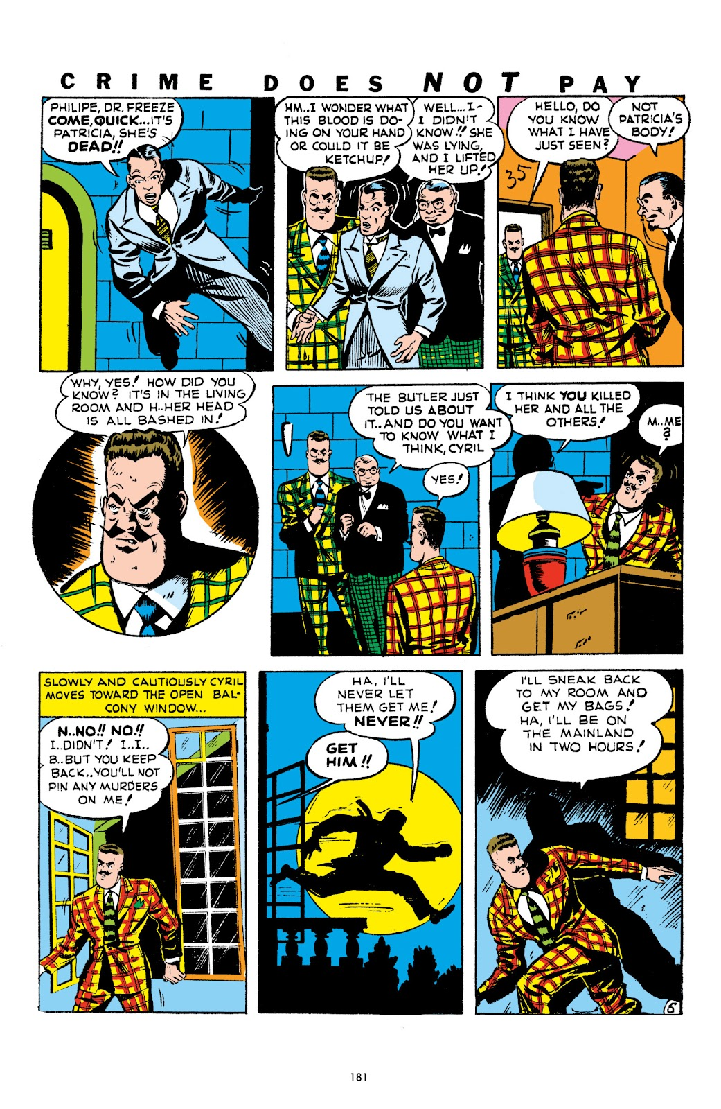 Read online Crime Does Not Pay Archives comic -  Issue # TPB 1 (Part 2) - 84