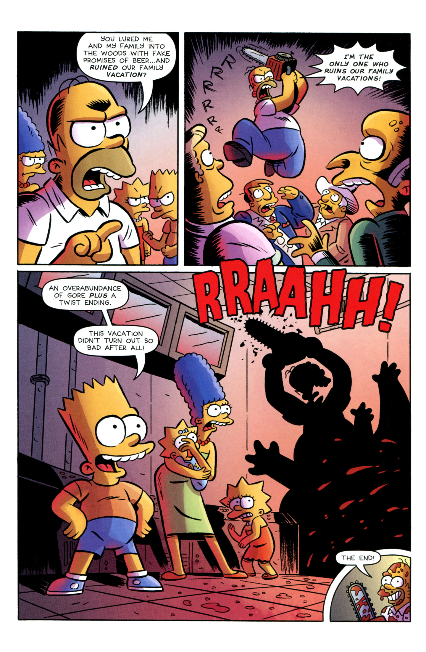 Read online Treehouse of Horror comic -  Issue #18 - 17