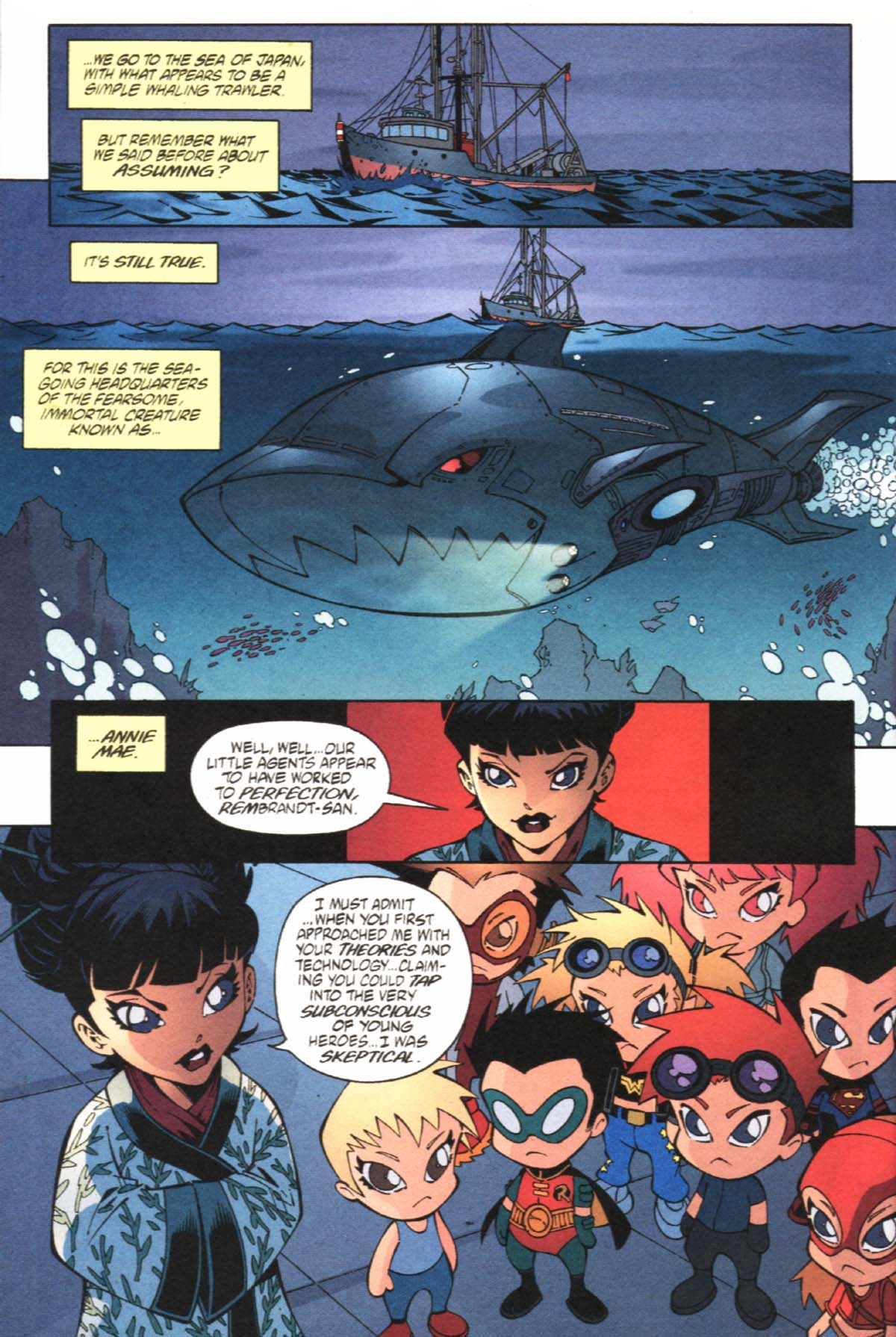 Read online SpyBoy/Young Justice comic -  Issue #1 - 16