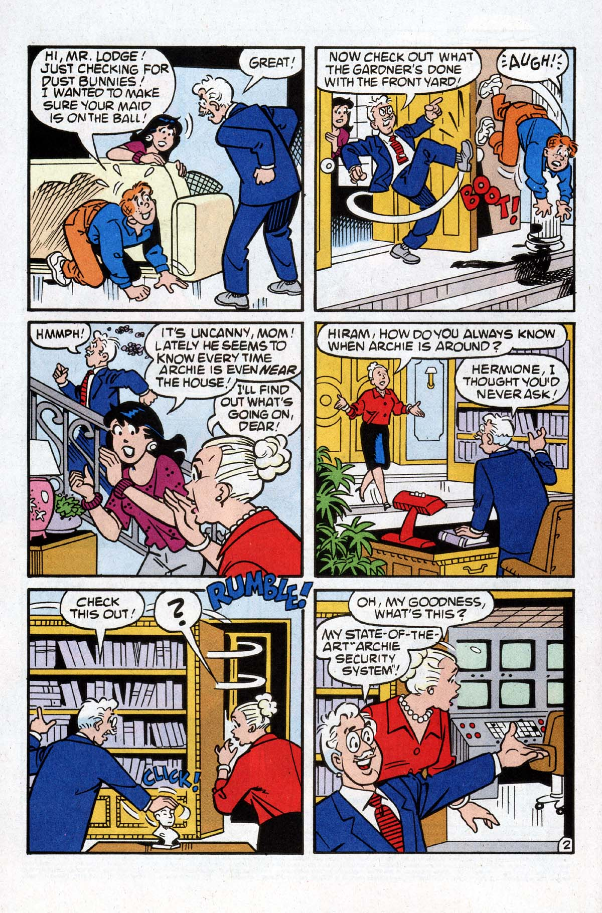 Read online Archie (1960) comic -  Issue #529 - 3