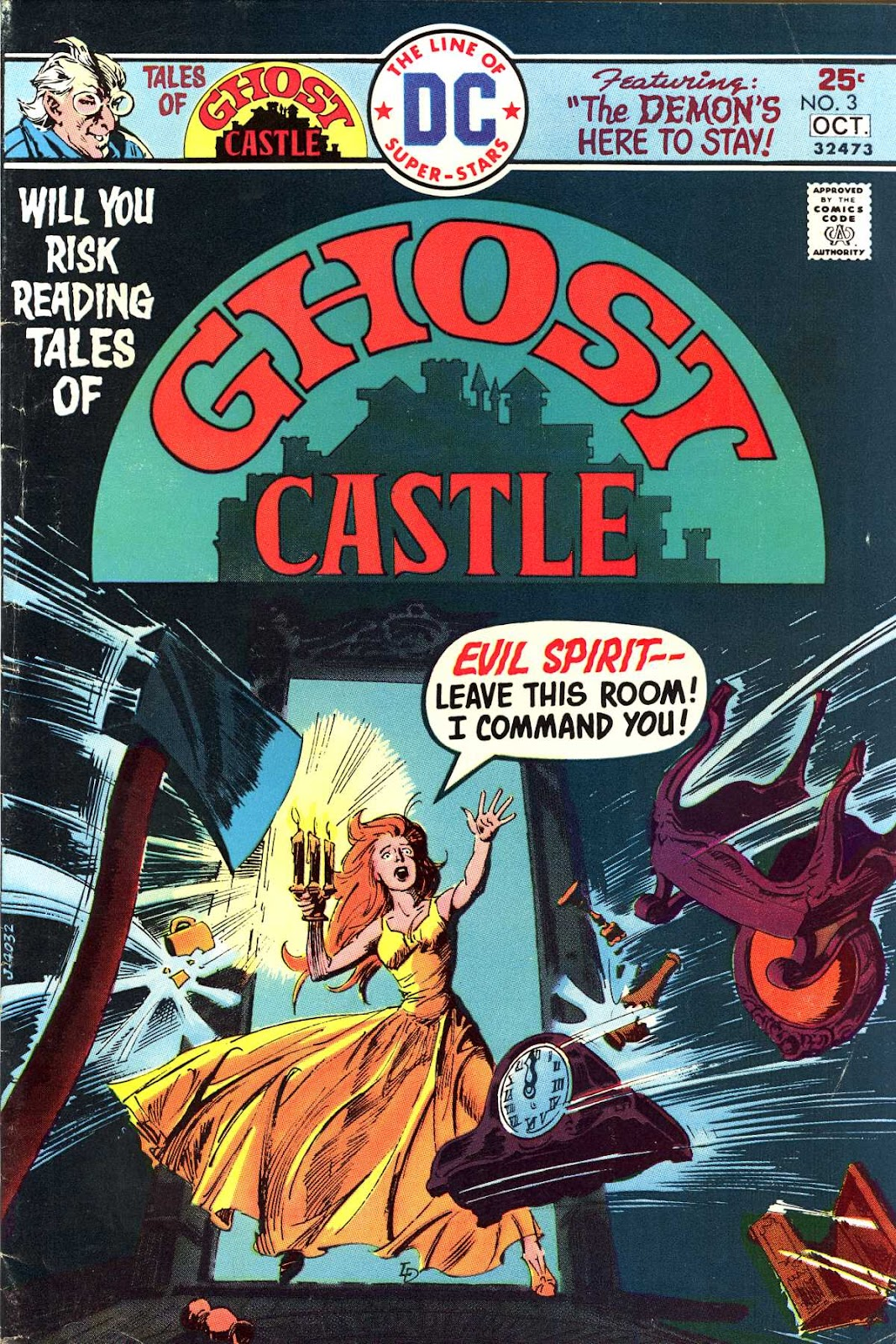Read online Tales of Ghost Castle comic -  Issue #3 - 1