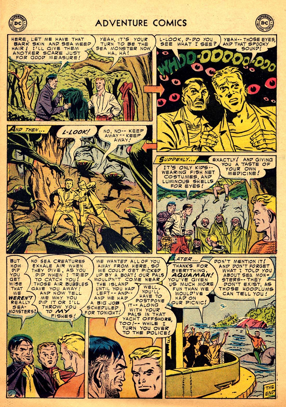 Read online Adventure Comics (1938) comic -  Issue #206 - 22