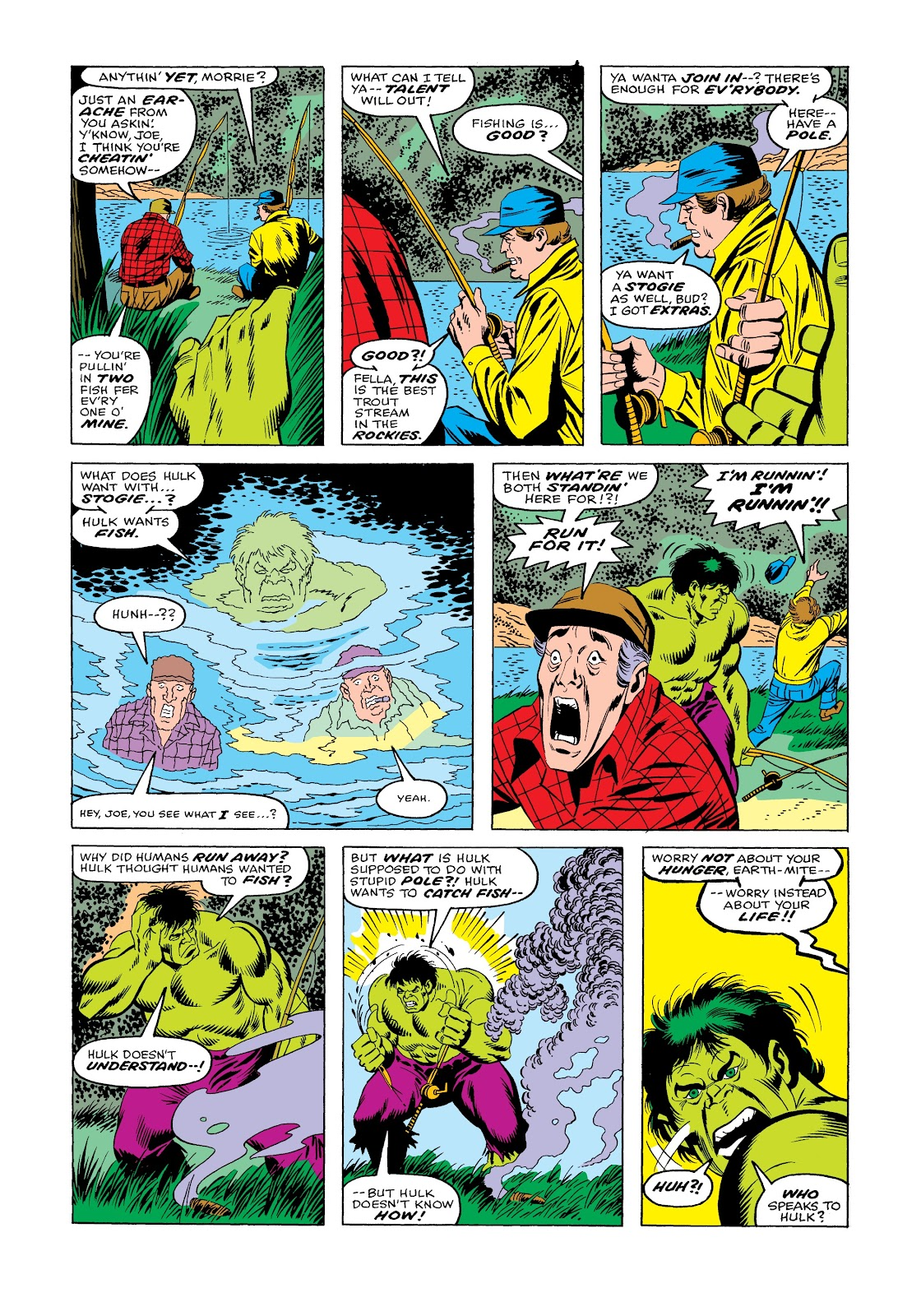 Read online Marvel Masterworks: The Incredible Hulk comic -  Issue # TPB 12 (Part 1) - 51