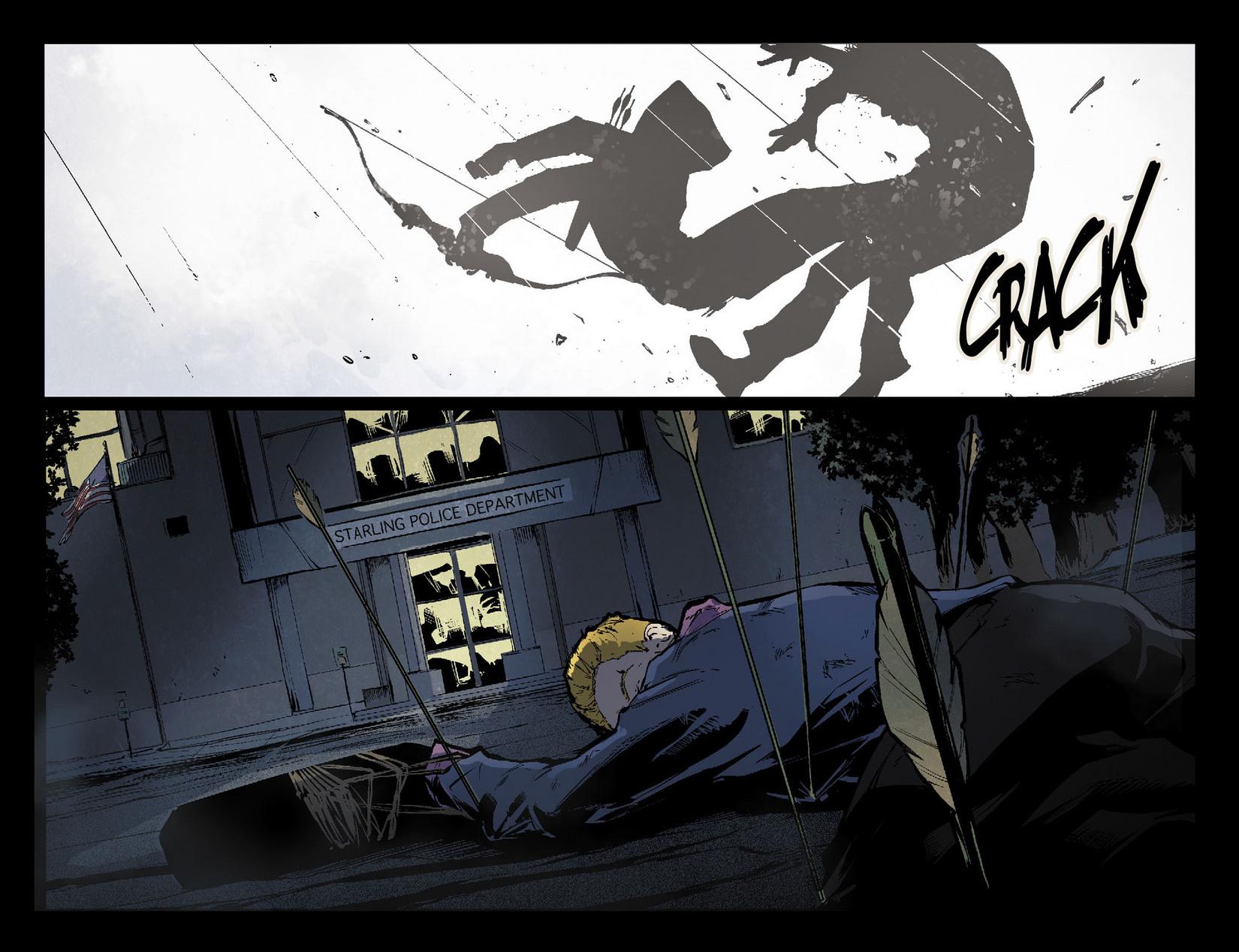 Read online Arrow [II] comic -  Issue #7 - 20