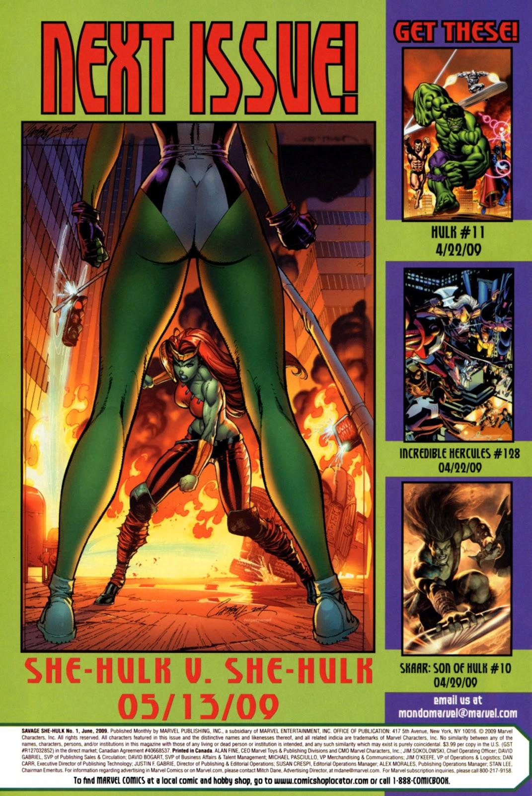 Savage She-Hulk Issue #1 #1 - English 34