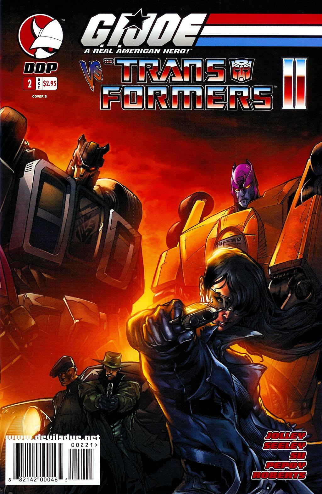 G.I. Joe vs. The Transformers II Issue #2 #3 - English 2