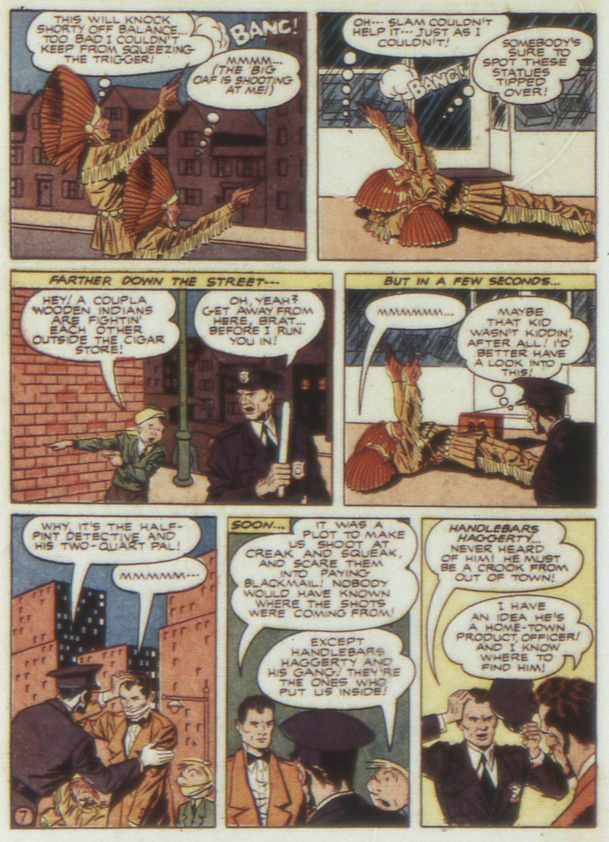 Read online Detective Comics (1937) comic -  Issue #74 - 64