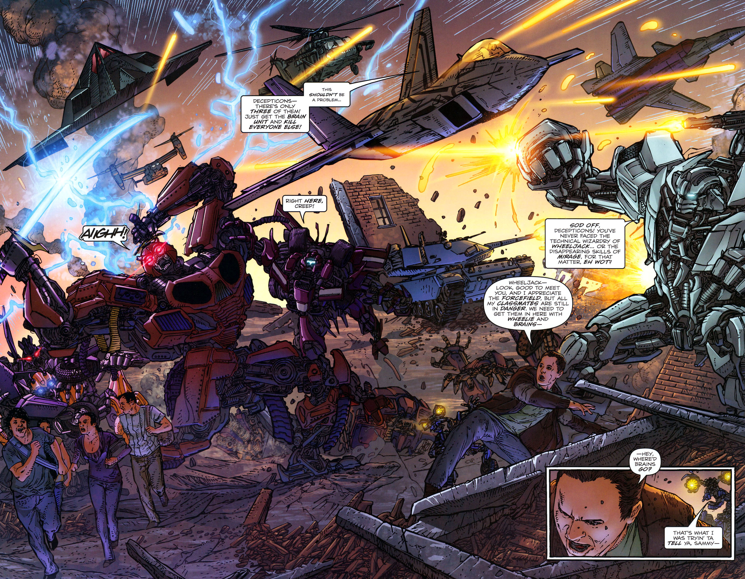 Read online Transformers: Dark of the Moon Rising Storm comic -  Issue #3 - 8