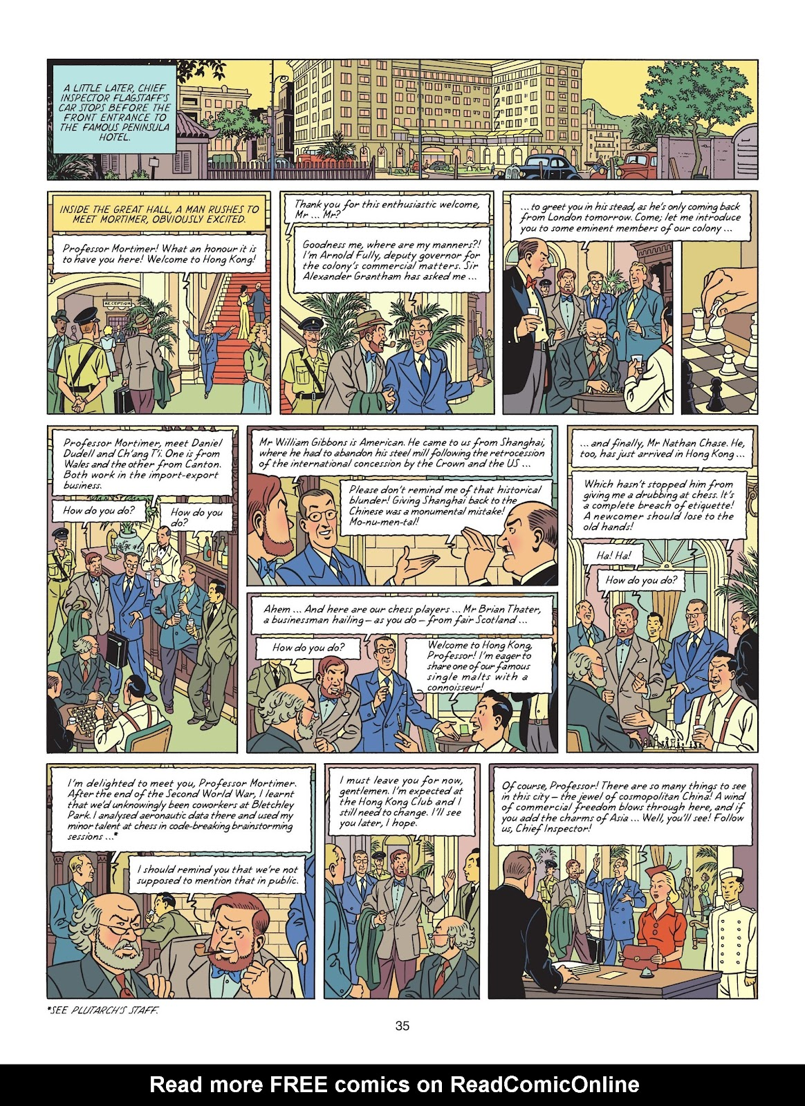 Read online Blake & Mortimer comic -  Issue #25 - 37