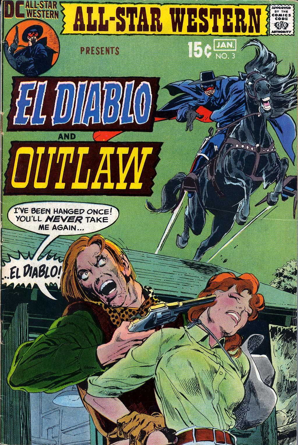 Read online All-Star Western (1970) comic -  Issue #3 - 1