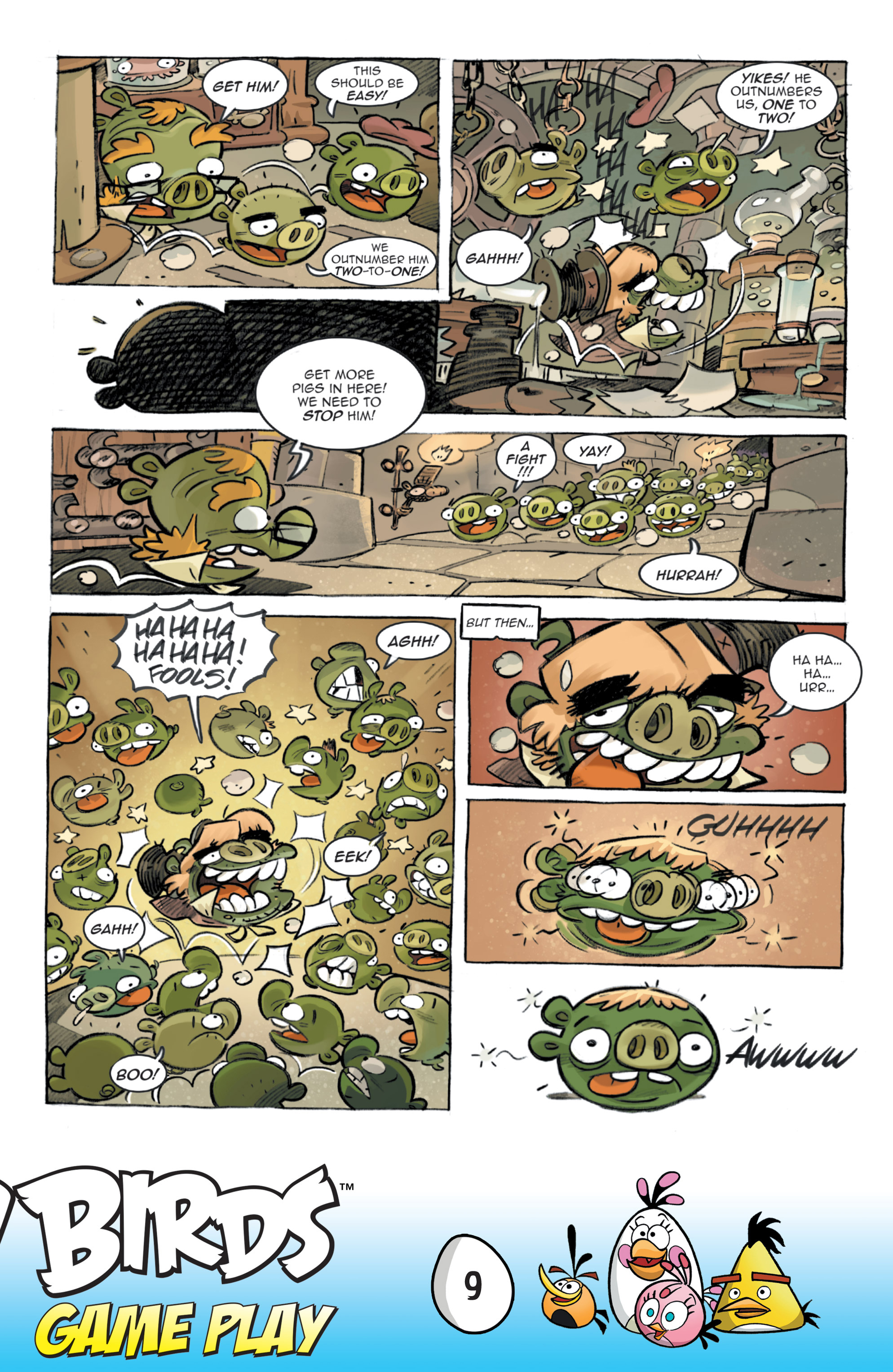 Read online Angry Birds Comics: Game Play comic -  Issue #3 - 11