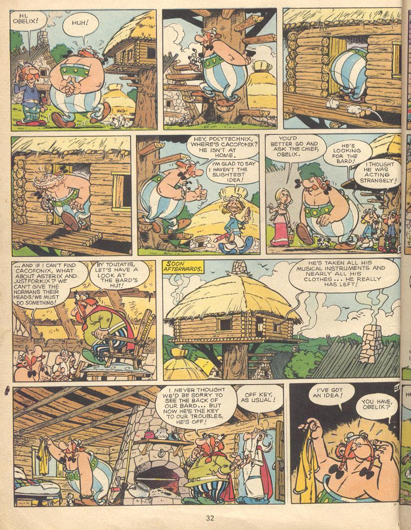 Read online Asterix comic -  Issue #9 - 29