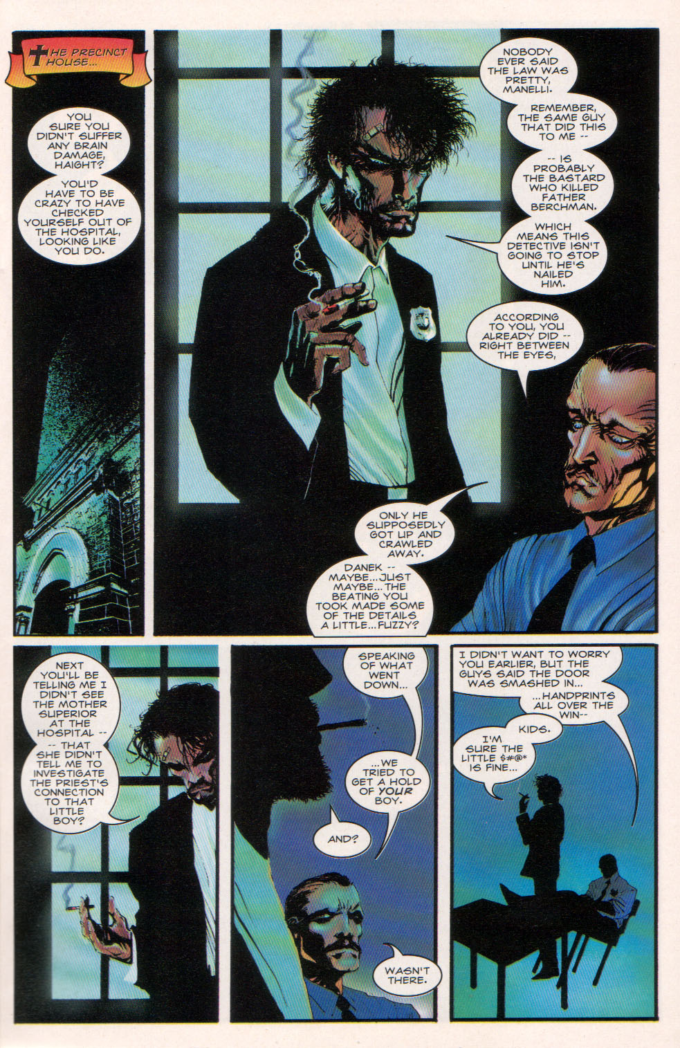 Read online Hellshock comic -  Issue #3 - 7