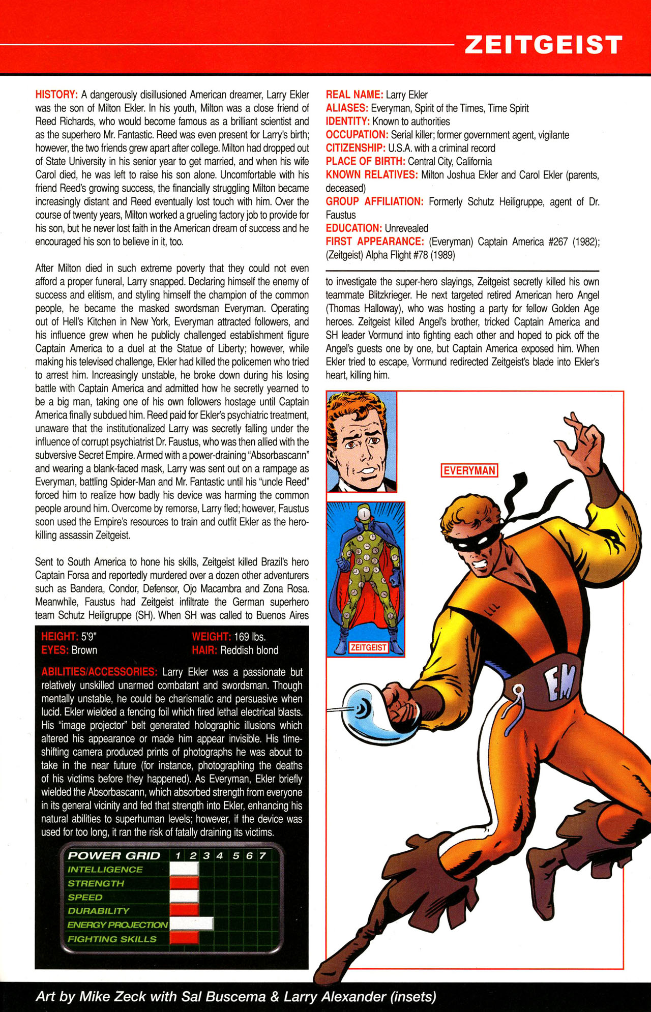 Read online All-New Official Handbook of the Marvel Universe A to Z comic -  Issue #12 - 57
