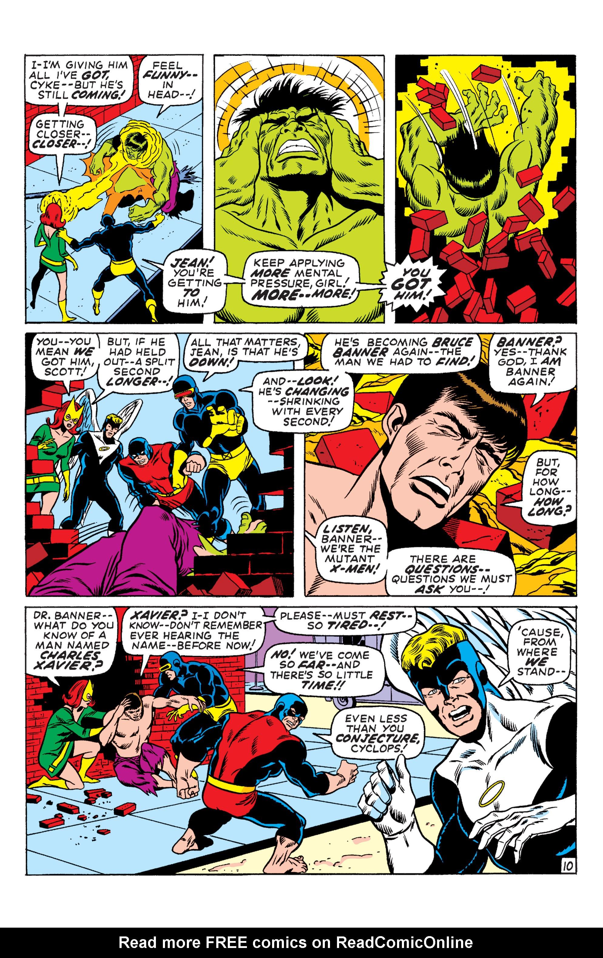 Uncanny X-Men (1963) 66 Page 10