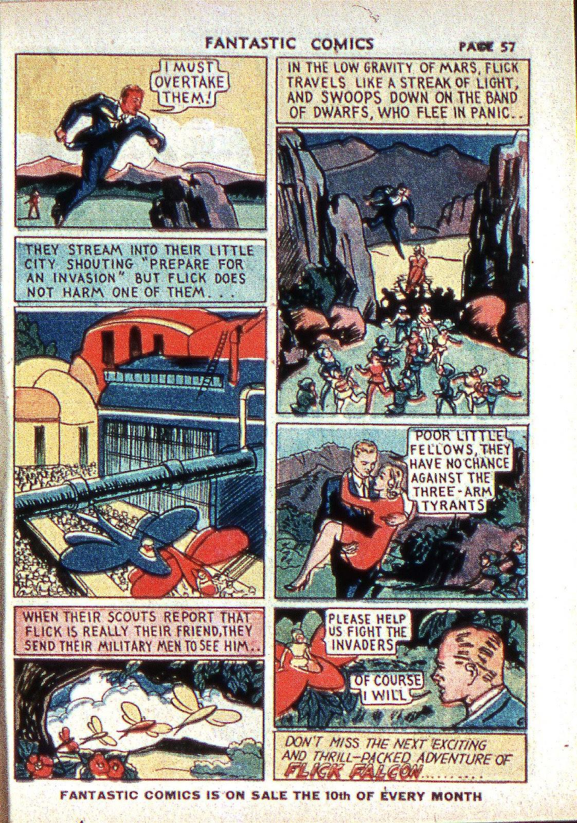 Read online Fantastic Comics comic -  Issue #2 - 58