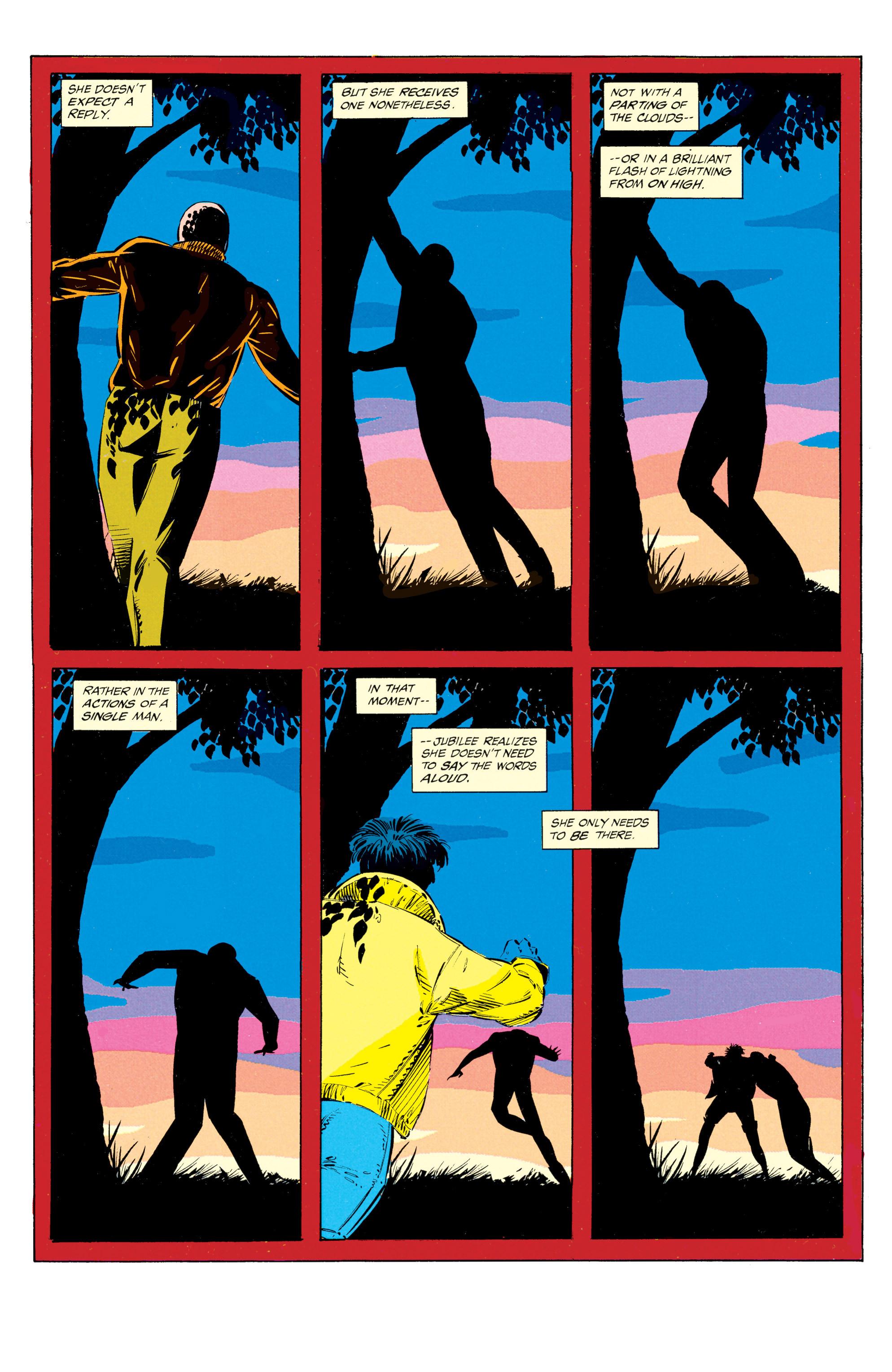 Read online Uncanny X-Men (1963) comic -  Issue #297 - 22