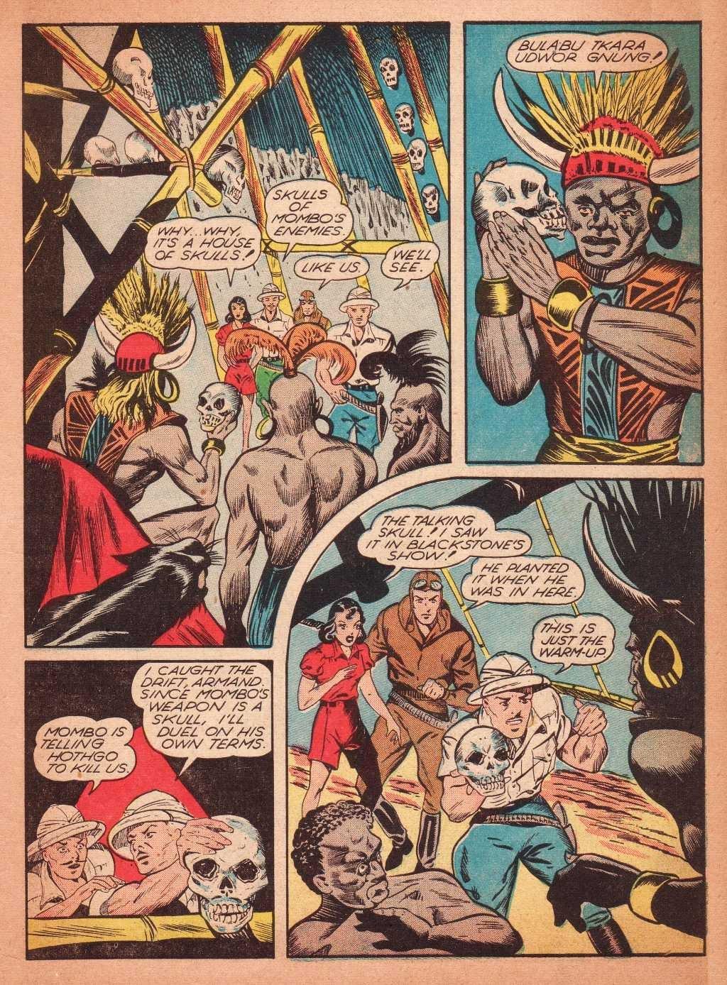 Read online Super-Magician Comics comic -  Issue #2 - 11