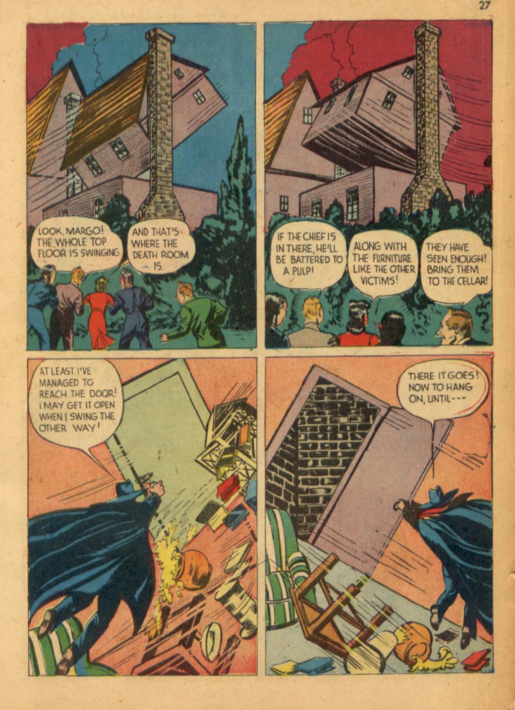 Read online Shadow Comics comic -  Issue #32 - 28