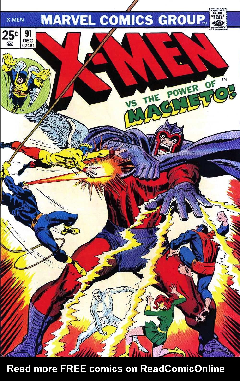 Uncanny X-Men (1963) 91 Page 1