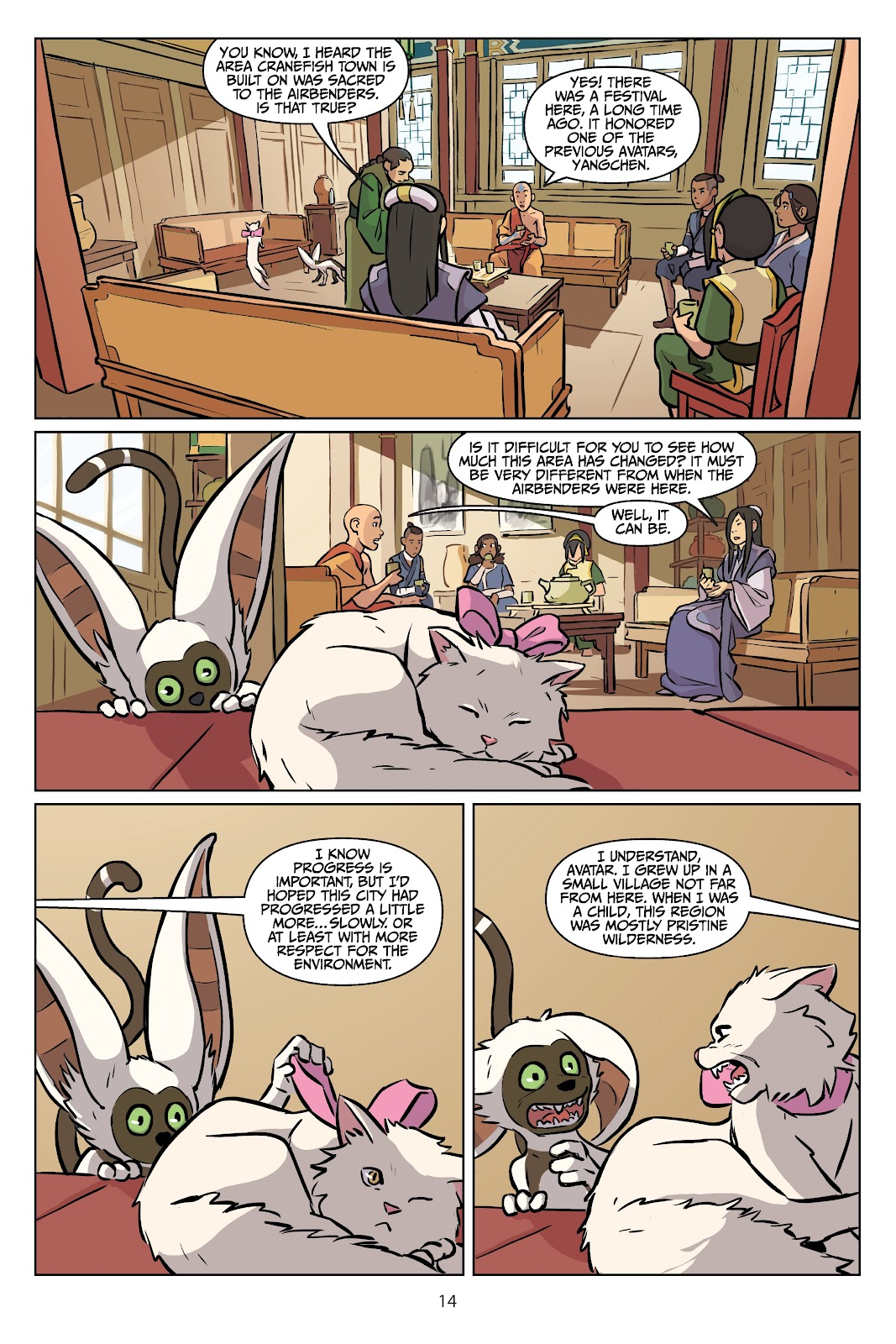 Read online Nickelodeon Avatar: The Last Airbender - Imbalance comic -  Issue # TPB 2 - 15