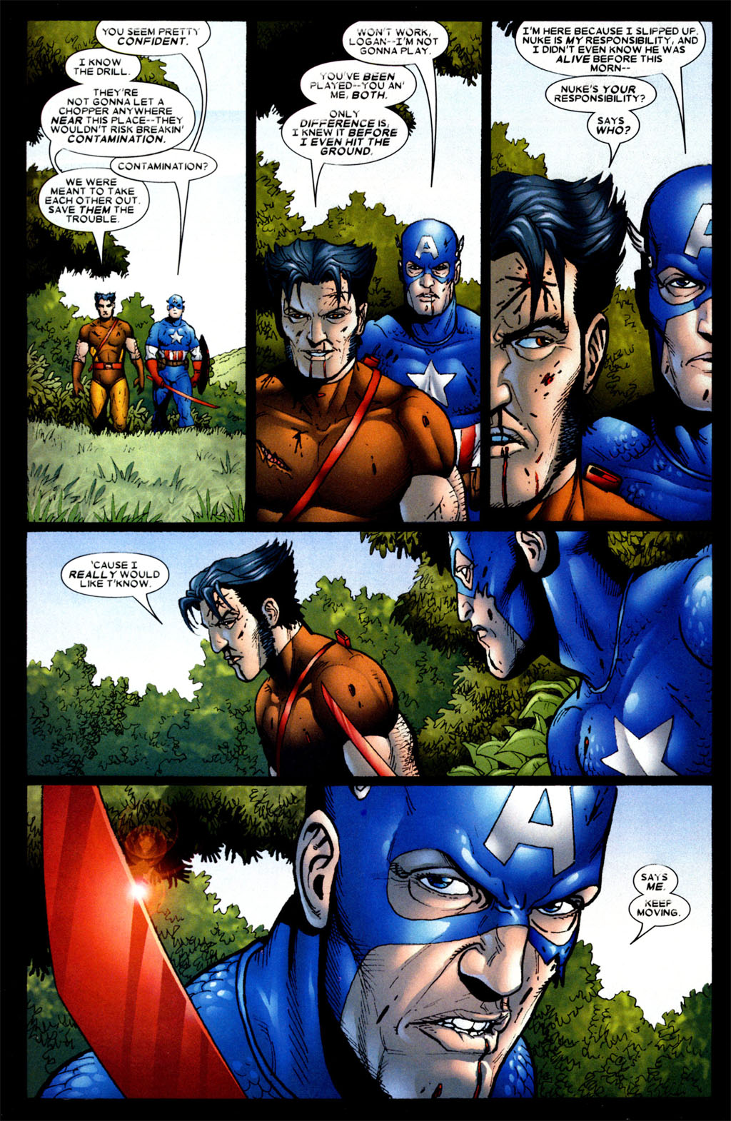 Read online Wolverine: Origins comic -  Issue #4 - 17
