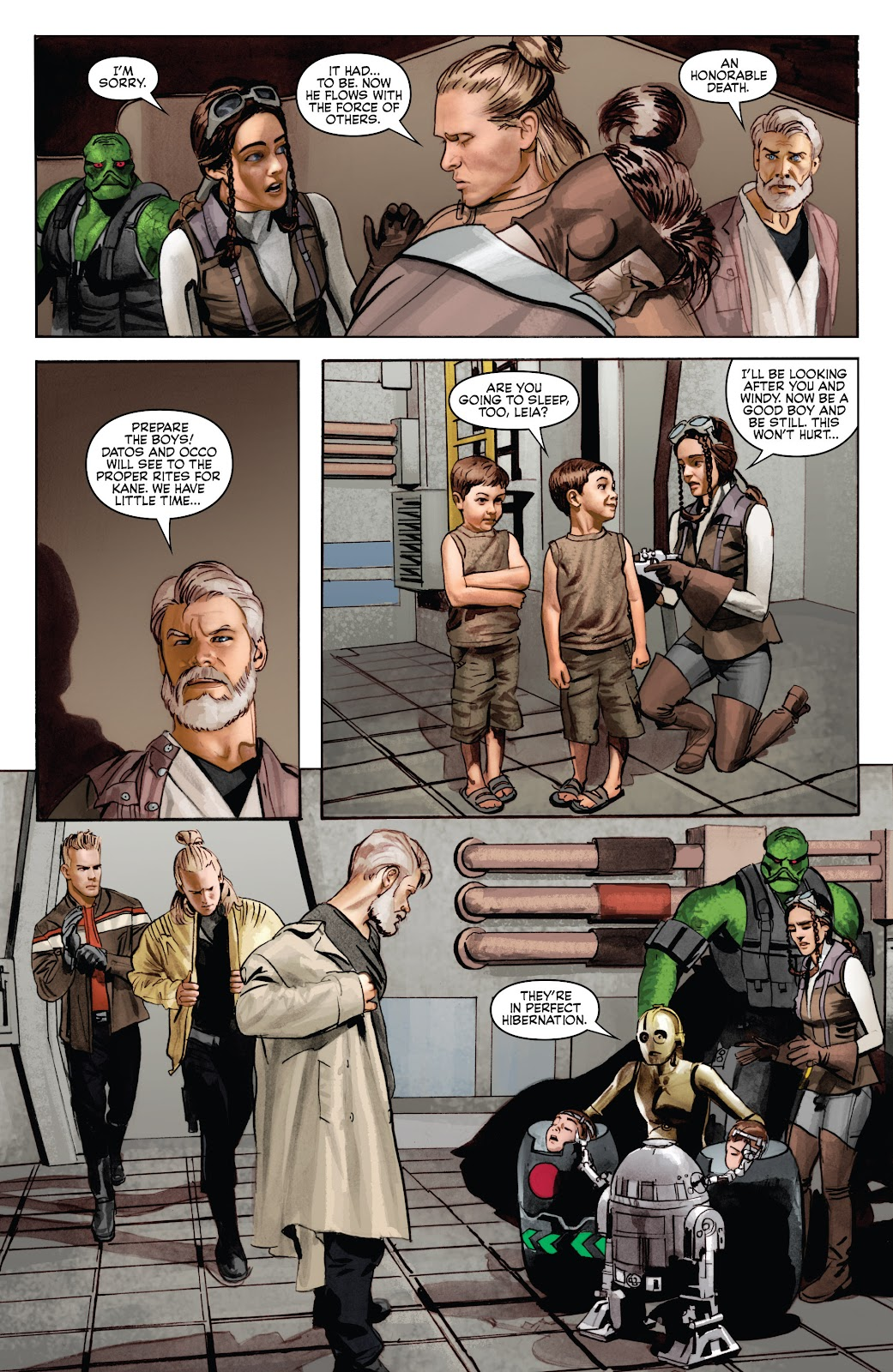 Read online Star Wars Legends: Infinities - Epic Collection comic -  Issue # TPB (Part 4) - 91