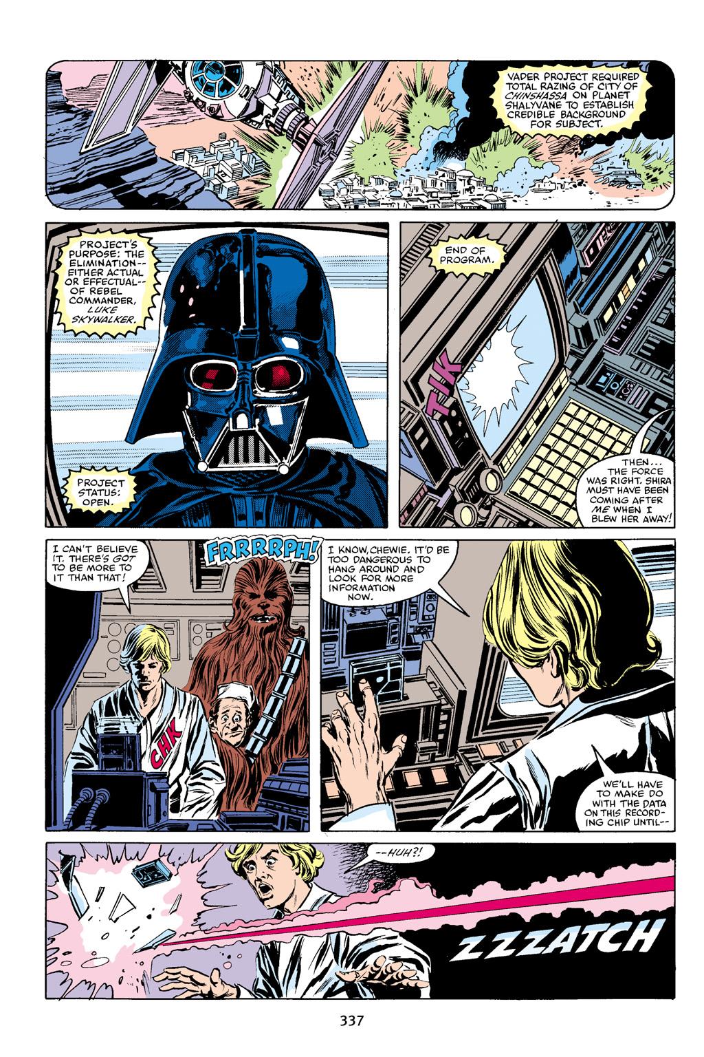 Read online Star Wars Omnibus comic -  Issue # Vol. 16 - 331