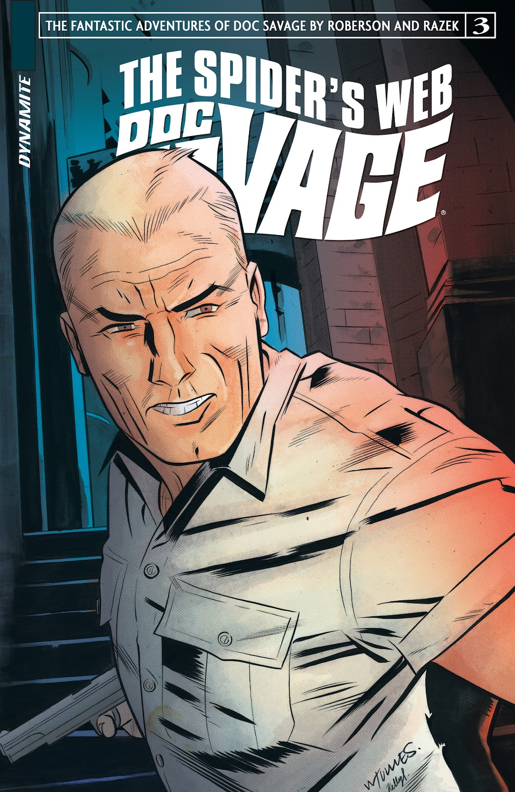 Doc Savage: The Spiders Web issue 3 - Page 1