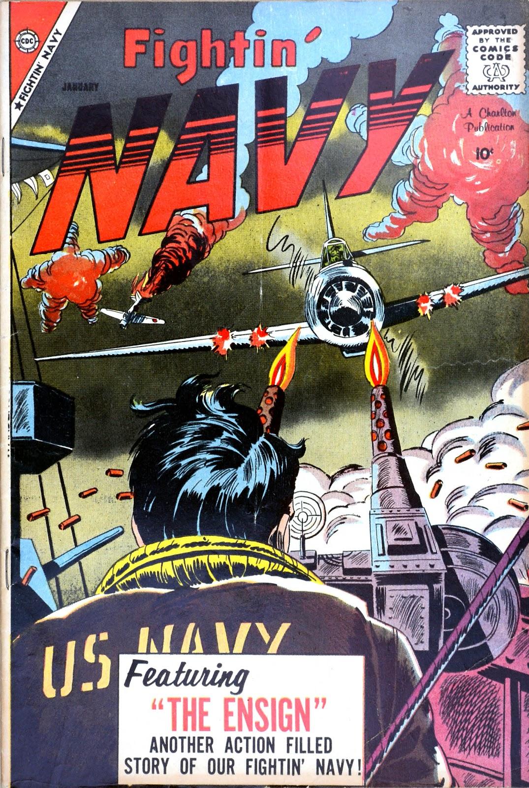 Read online Fightin' Navy comic -  Issue #85 - 1