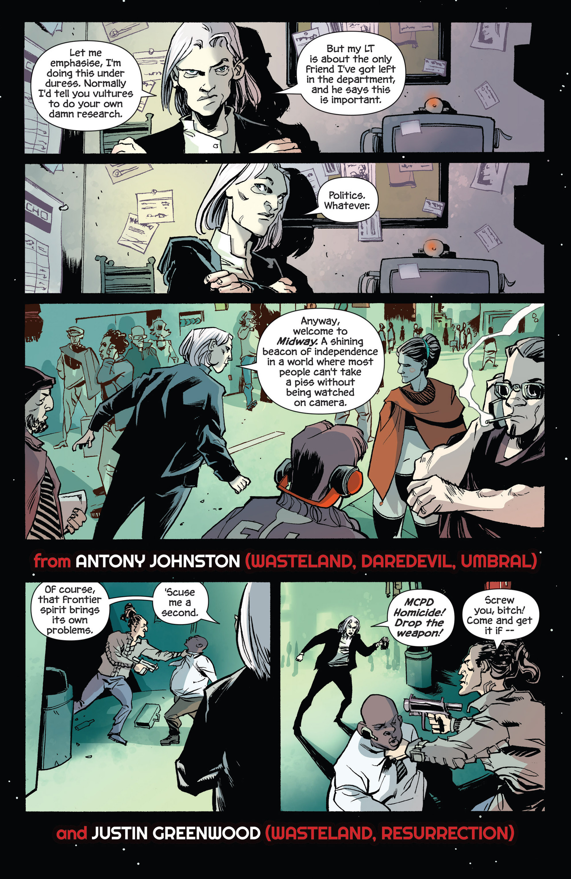 Read online Umbral comic -  Issue #2 - 28