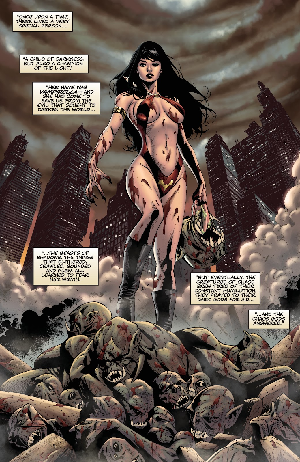 Read online Vengeance of Vampirella (2019) comic -  Issue #1 - 8