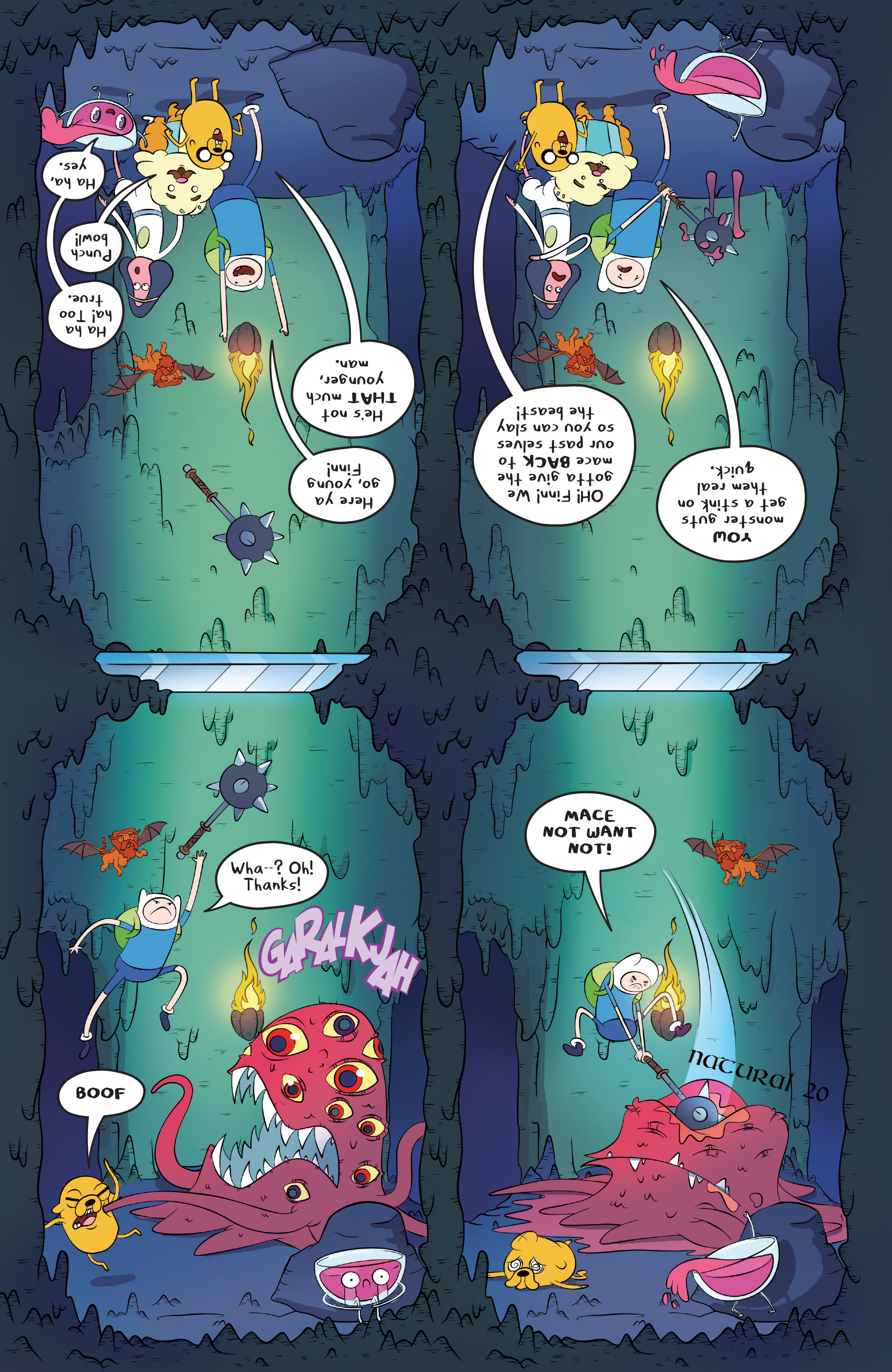 Read online Adventure Time comic -  Issue #45 - 13