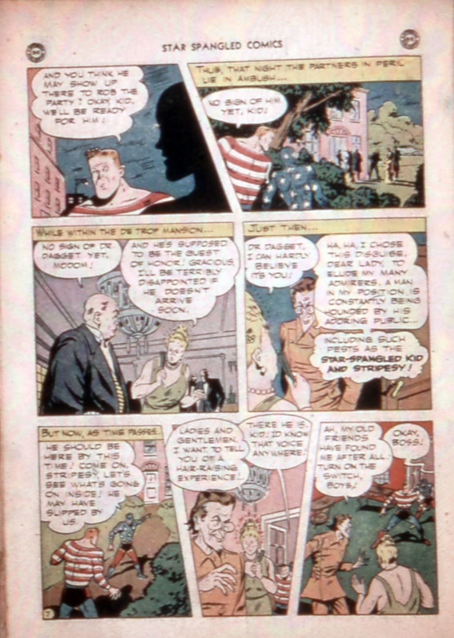 Star Spangled Comics (1941) issue 43 - Page 35