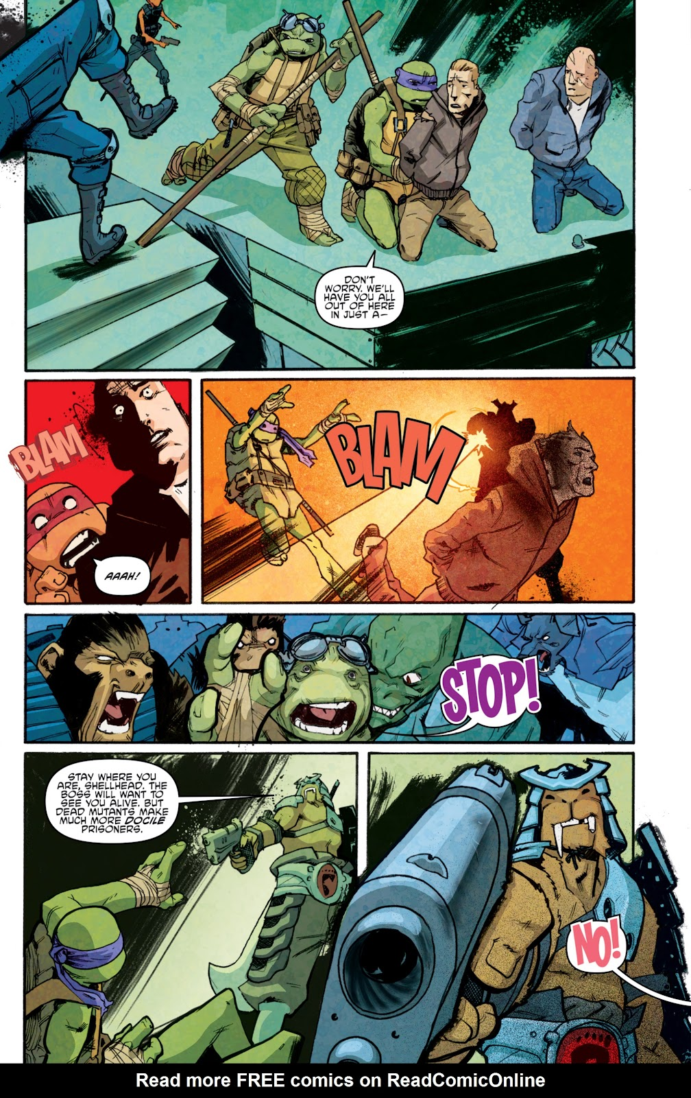 Read online Teenage Mutant Ninja Turtles: The IDW Collection comic -  Issue # TPB 5 (Part 1) - 89