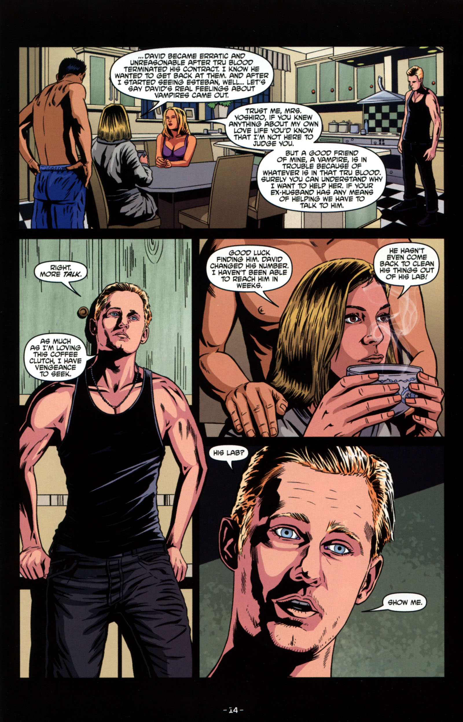 Read online True Blood: Tainted Love comic -  Issue #4 - 16