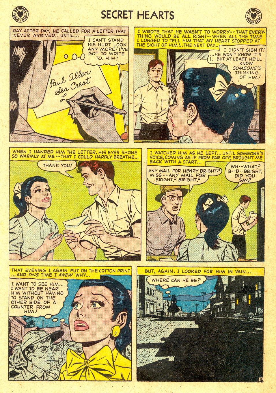 Read online Secret Hearts comic -  Issue #45 - 20