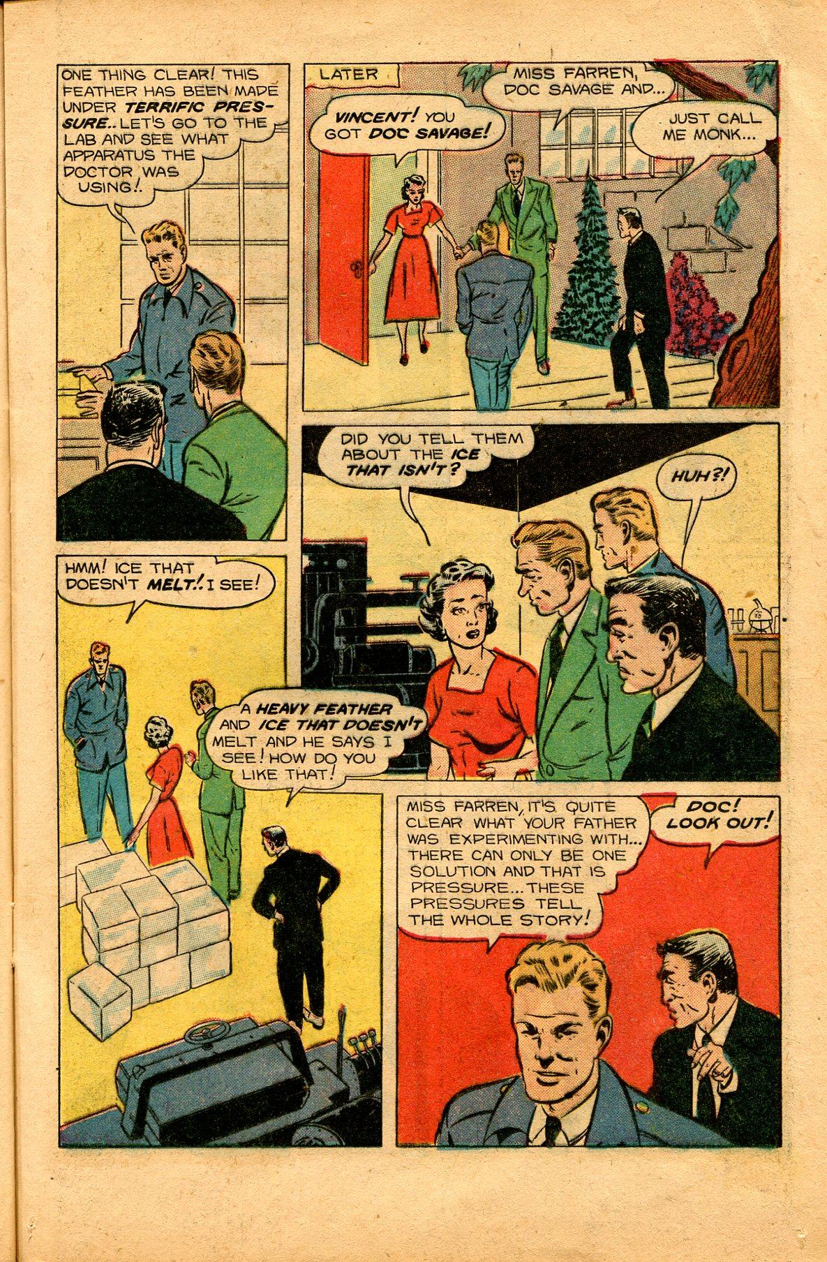 Read online Shadow Comics comic -  Issue #94 - 19