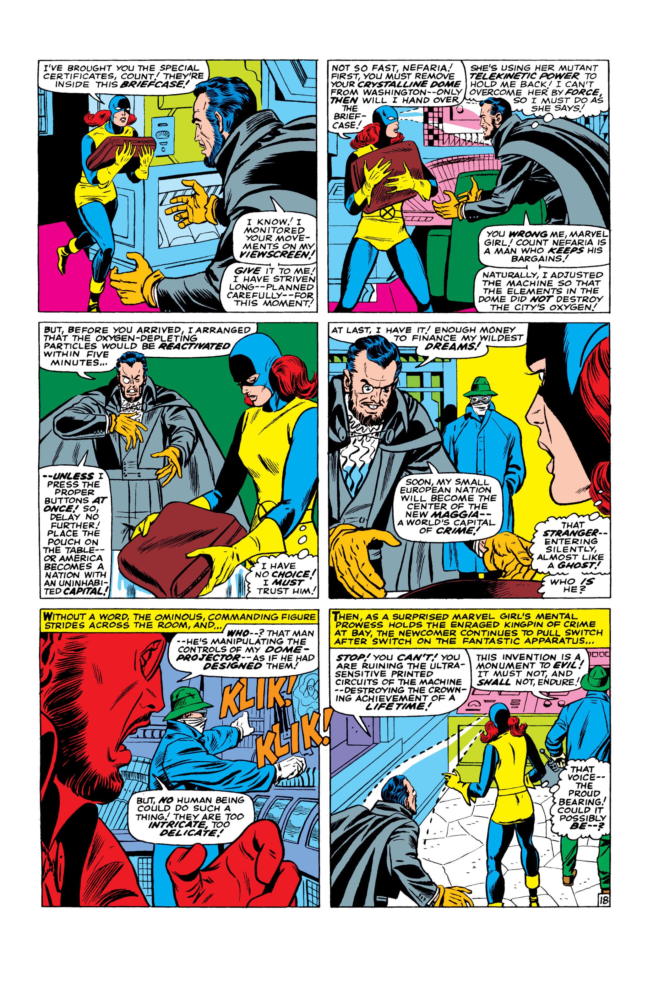Read online Uncanny X-Men (1963) comic -  Issue #23 - 19