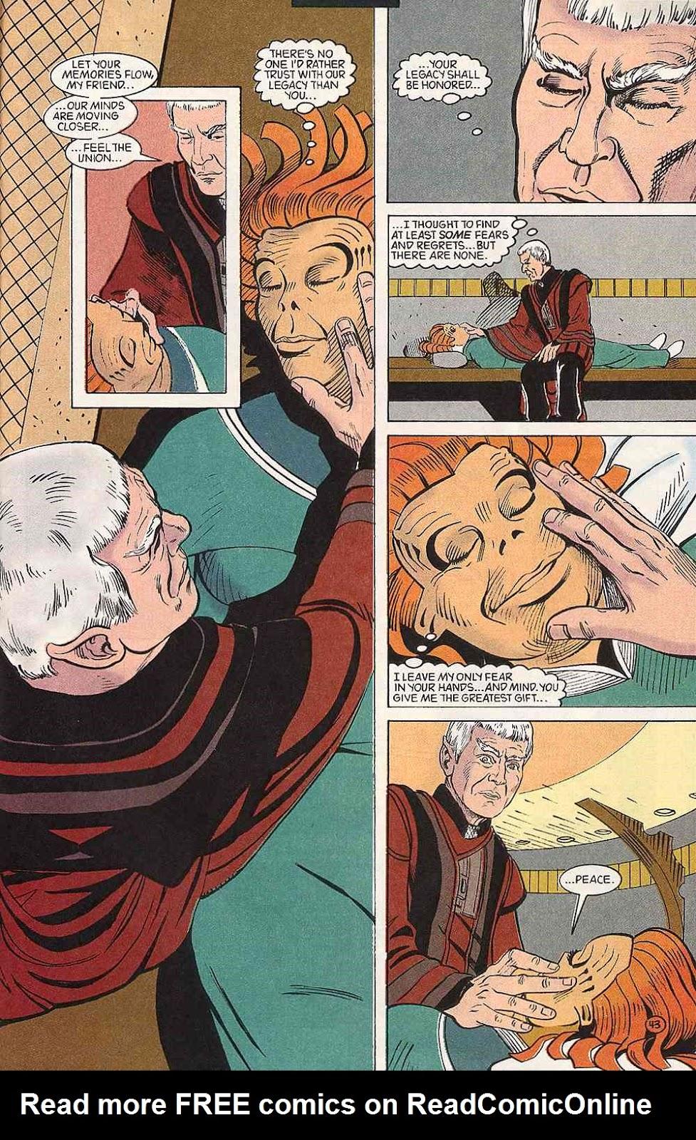 Read online Star Trek (1989) comic -  Issue # Annual 3 - 47