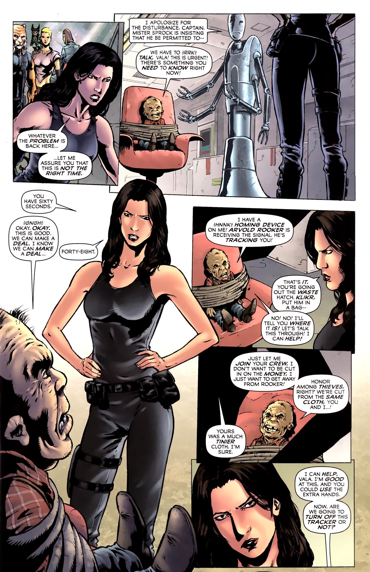 Read online Stargate Vala Mal Doran comic -  Issue #2 - 5