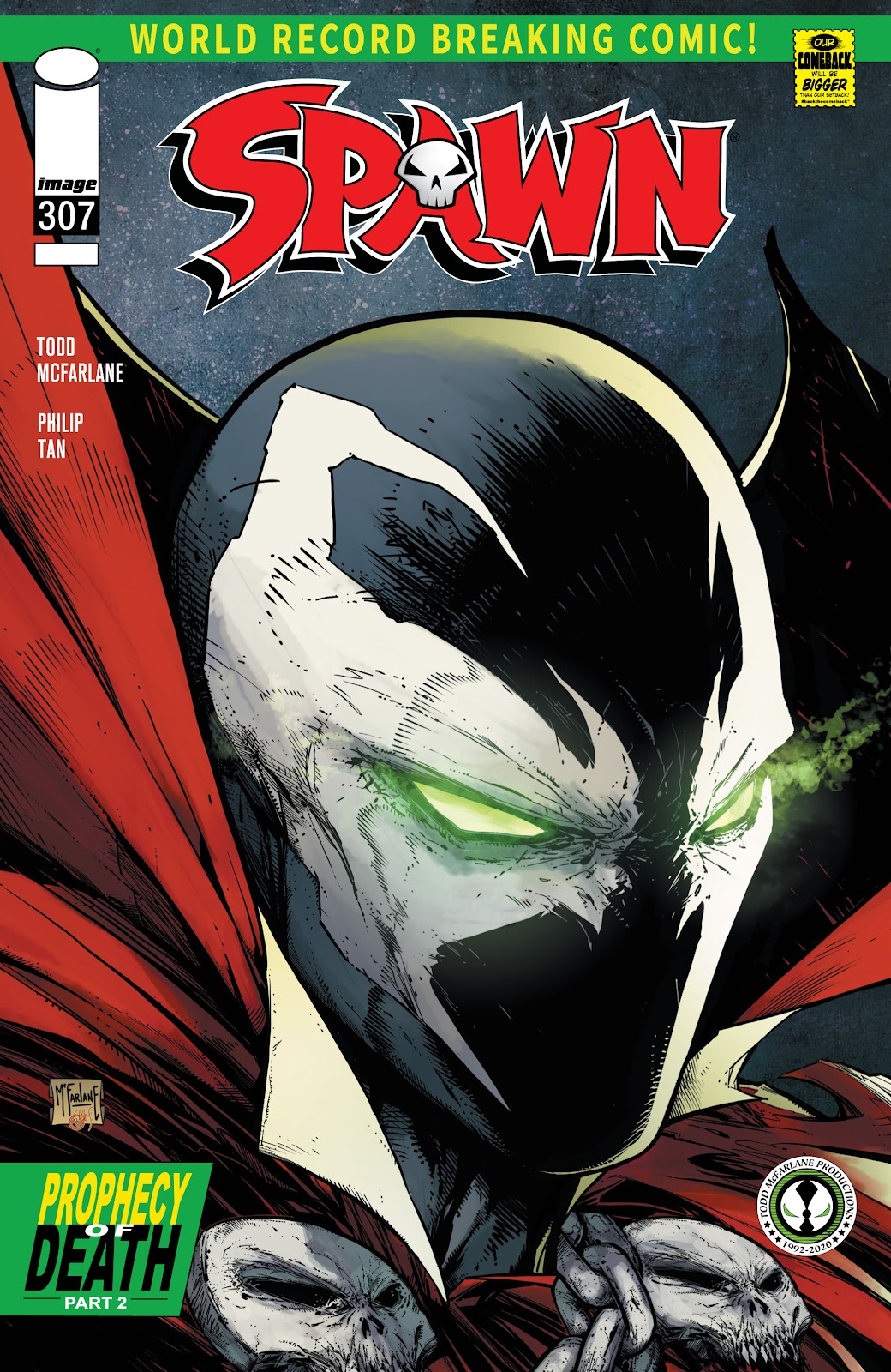 Spawn issue 307 - Page 1