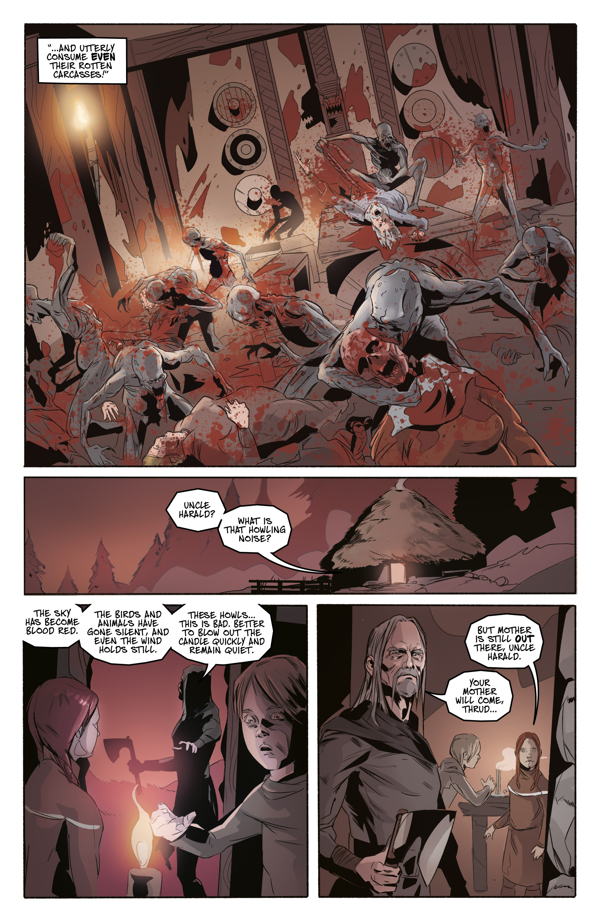 Read online Ghost Wolf comic -  Issue #3 - 21