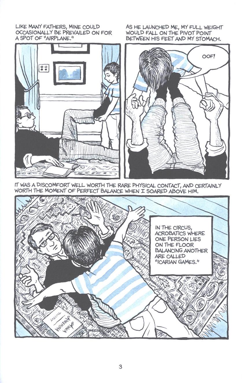 Read online Fun Home: A Family Tragicomic comic -  Issue # TPB - 10